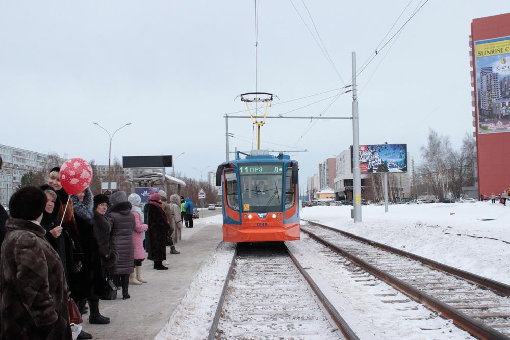 Новая ветка трамвайной линии