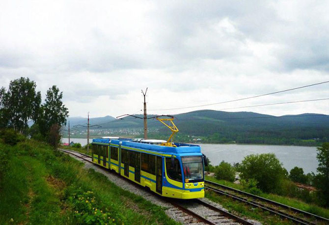 трамваи в Усть-Катаве.